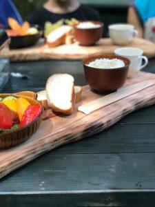 そぶらの森のレストランの特性ハンバーグ ¥2200